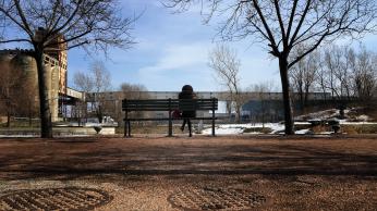 Tristan Audet - Solitude - Pause sur le banc
